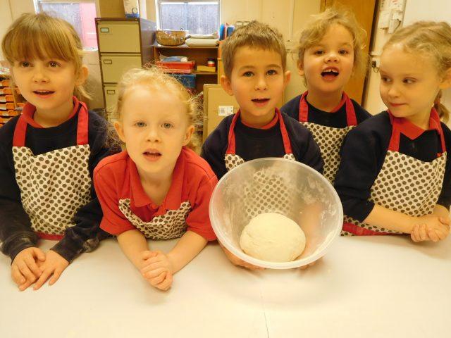 Bread making 4