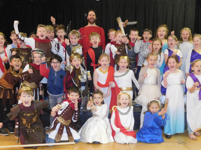 Romans Arrived at GD!