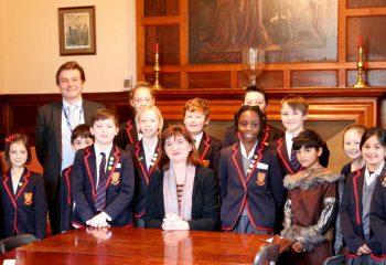 Nicola Morgan Visits Grace Dieu School