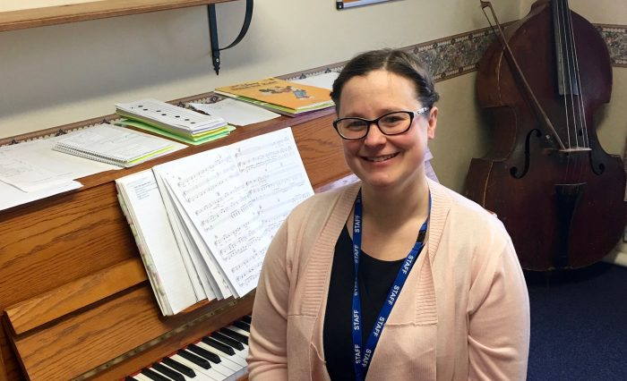 Grace Dieu's new Director of Music!