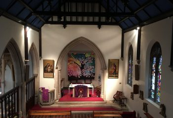 Chapel with Easter promises