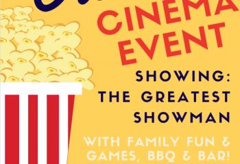 Grace Dieu's Outdoor Cinema event