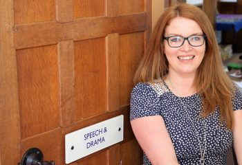 Grace Dieu's new Speech & Drama teacher s
