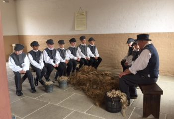 Educational visit to The Workhouse