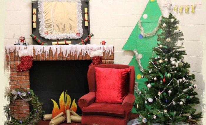 Santa's grotto is waiting at Grace Dieu Manor School's Christmas Fair