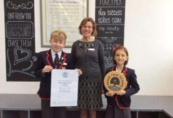 IMG_0661 Green Tree School Platinun Award
