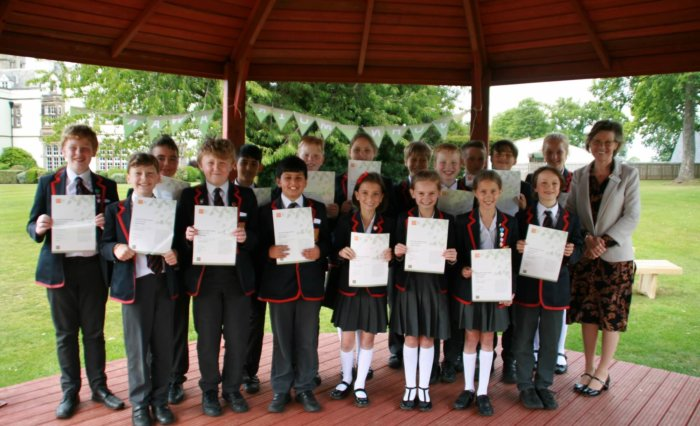 Grace Dieu Manor School - John Muir Awards 1