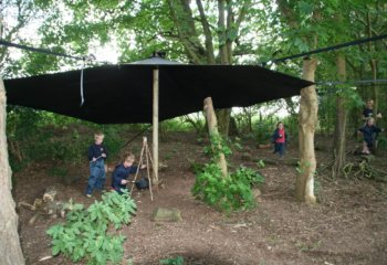Grace Dieu Manor School Outdoor Learning - new Cygnet Forest 3
