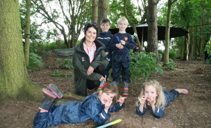 Grace Dieu Manor School Outdoor Learning - new Cygnet Forest 8