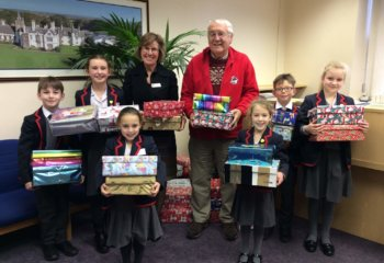 Grace Dieu Manor School Shoebox Appeal