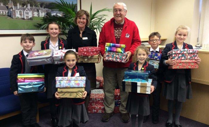 Grace Dieu Manor School Shoebox Appeal