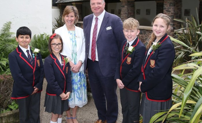 Grace Dieu Prize Day Head Girl Headmistress Head Boy