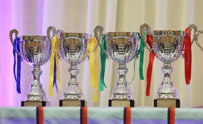 Grace Dieu Prize Day House Cups