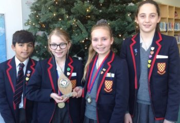 Grace Dieu Manor School Trent College festive workshop winners