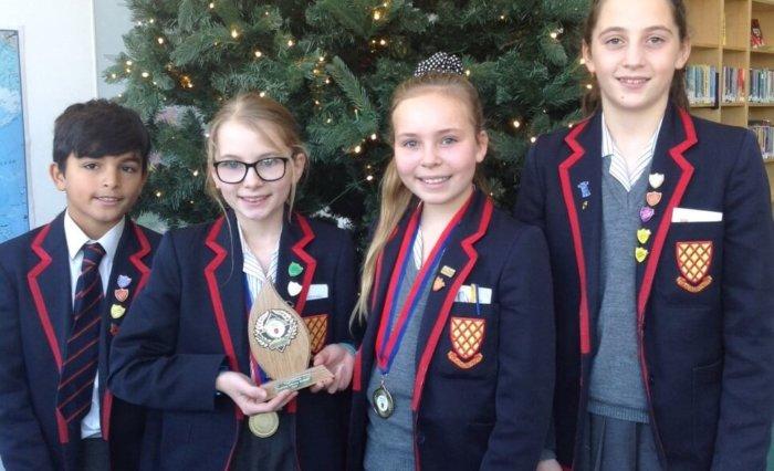 Grace Dieu Manor School Trent College festive workshop winners