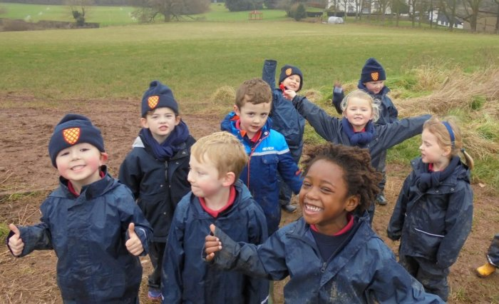 Grace Dieu Manor School Reception Class Forest Bathing Feature Image